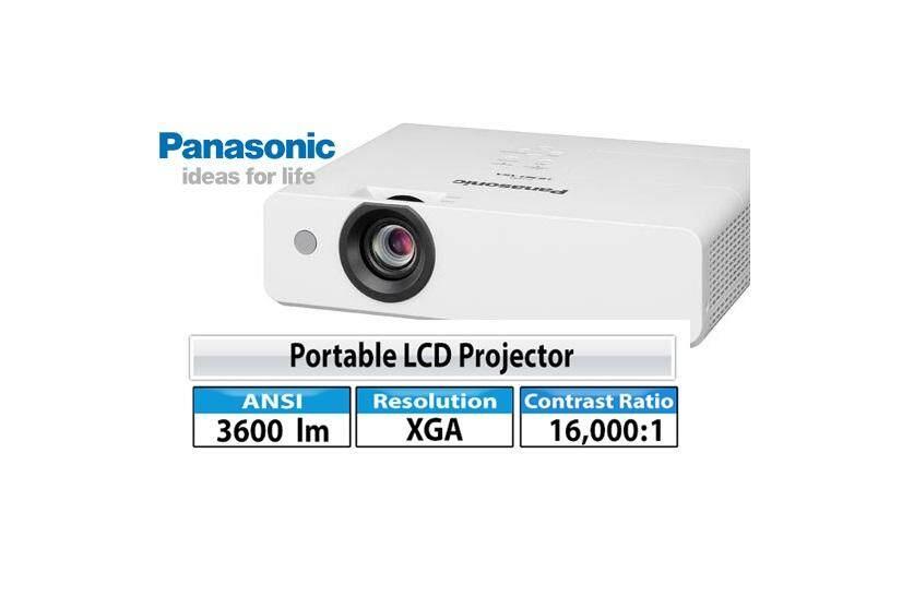 Panasonic PT-LB383 3800 ANSI LUMENS XGA Projector With HDMI