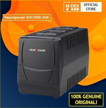 Neuropower AVS1000-3UK AVS AVR 1000VA Automatic Voltage Regulator [100% Original]