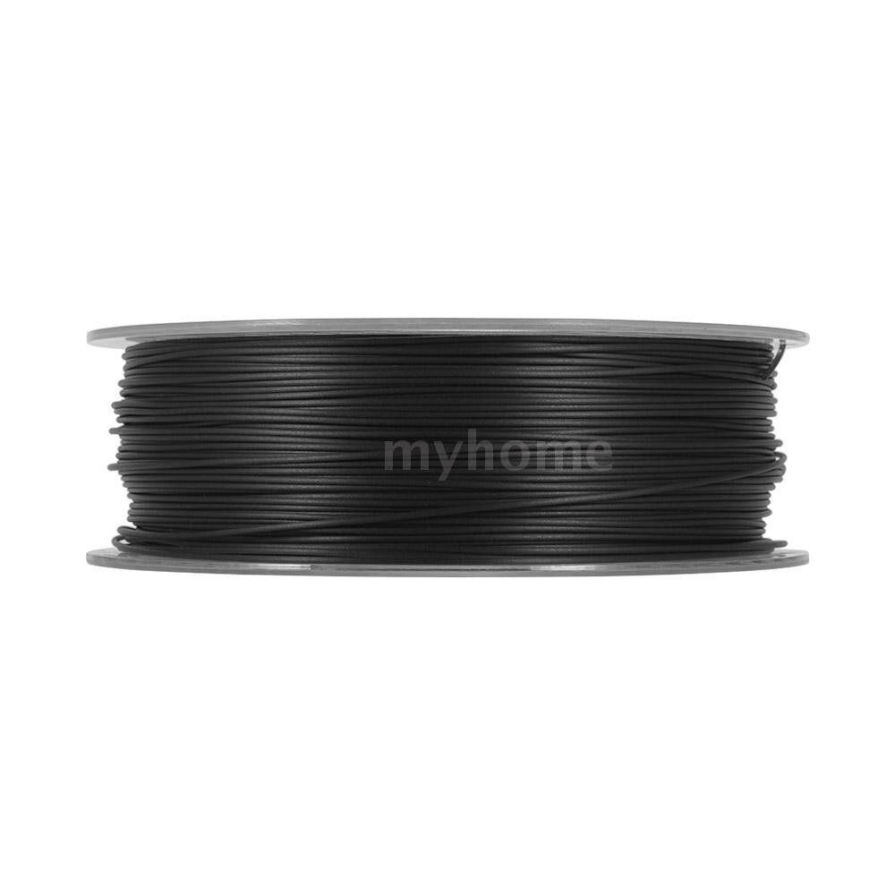Printers & Projectors - 1.75mm 3D Printer Filament Carbon Fiber PLA Filament 1kg/2.2lb Spool Dimensional Accuracy +/- 0.02 - BLACK