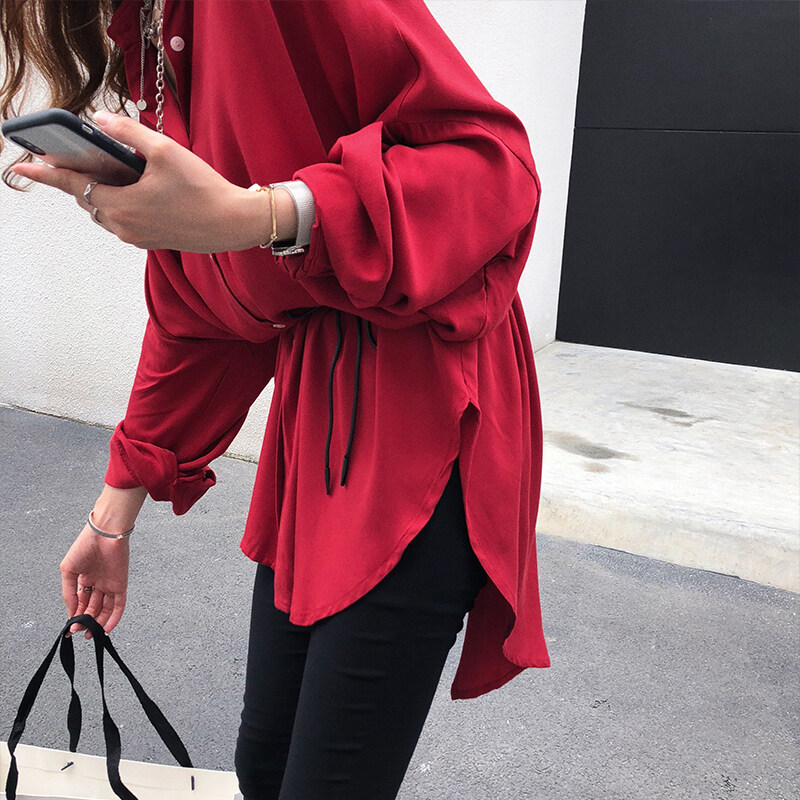 JYS Fashion Korean Style Women Long Sleeve Blouse or Top Collection 535- 4068