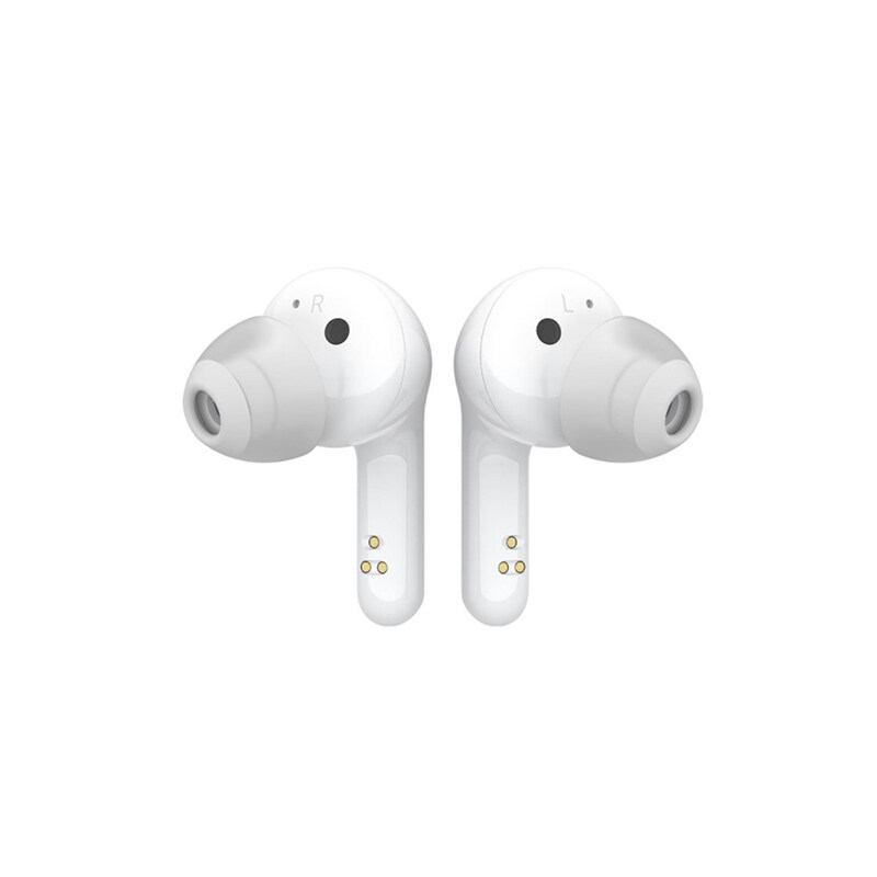 LG Wireless Bluetooth Earbuds Tone Free HBS-FN6 with MERIDIAN Audio Technology, IPX4 Water Resistant, UVnano Sanitising Technology, 6 Hours play Time, Wireless Charging Case, LG Tone Free App, Customisable EQ Settings