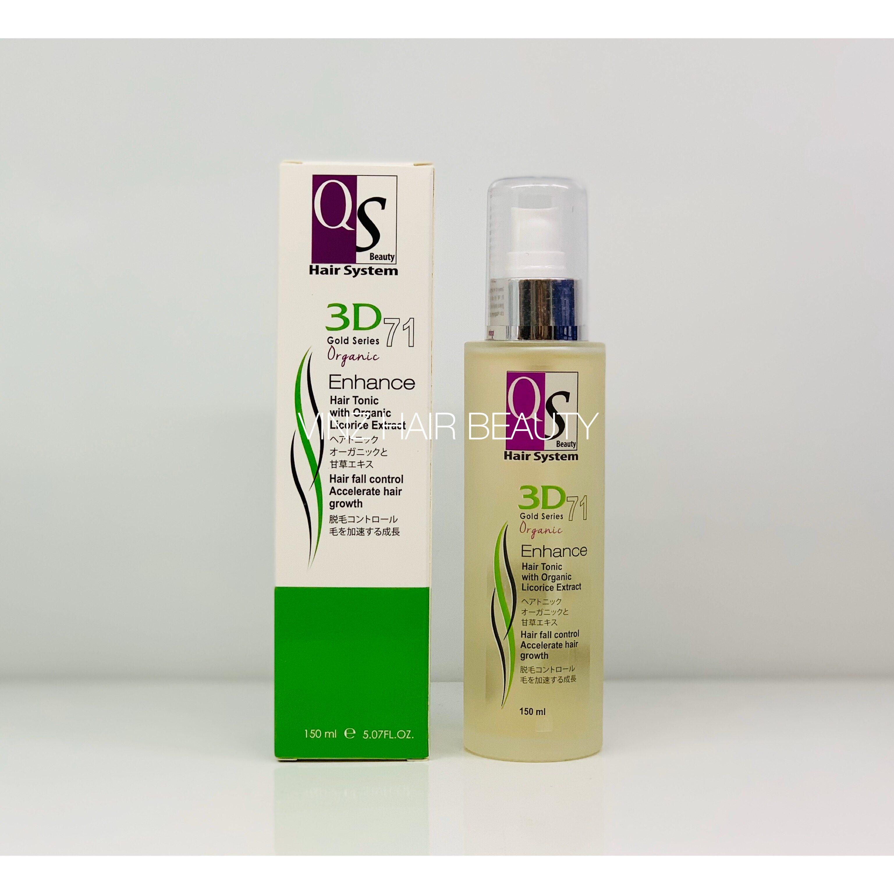 QS 3D71 Organic Enhance Hair Tonic 150ml