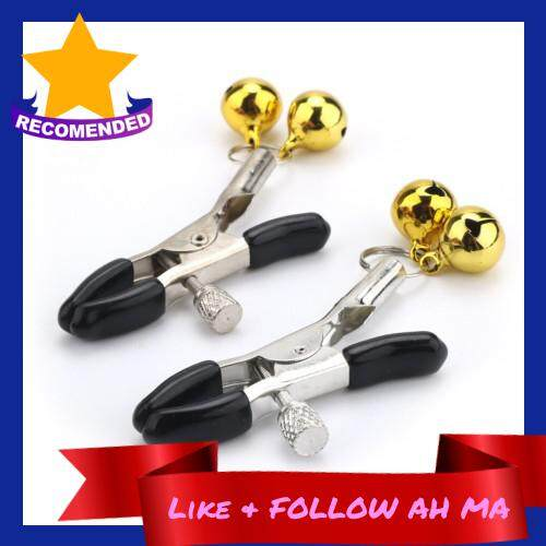 Best Selling Female Seks Nipple Clips With Bells Chains Rings Labia Nipple Clamps Bondage BDSM Adult Toys