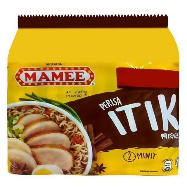 Mamee Instant Noodles - Duck (75g x 5)