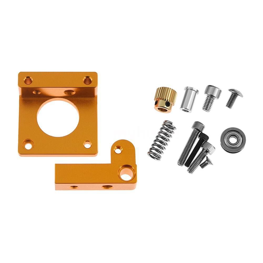 Printers & Projectors - MK8 Extruder Aluminum Alloy Block DIY Kit for 1.75mm Filament Extrusion 3D Printer - RIGHT HAND SHORT / RIGHT HAND / LEFT HAND