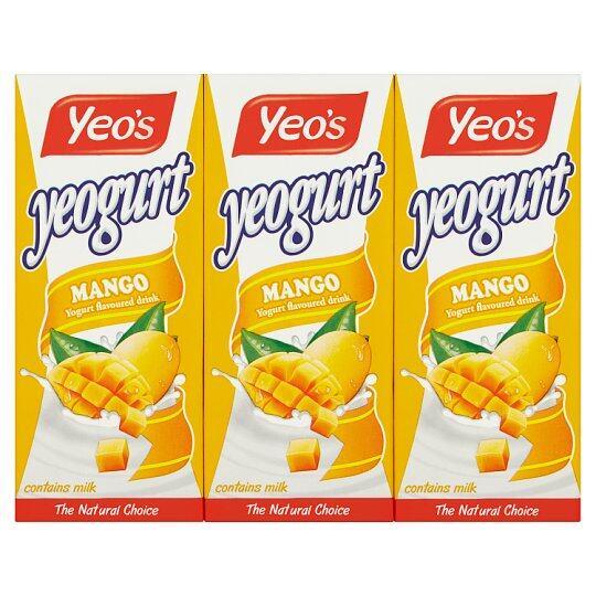 Yeo's Yeogurt Mango 250ml