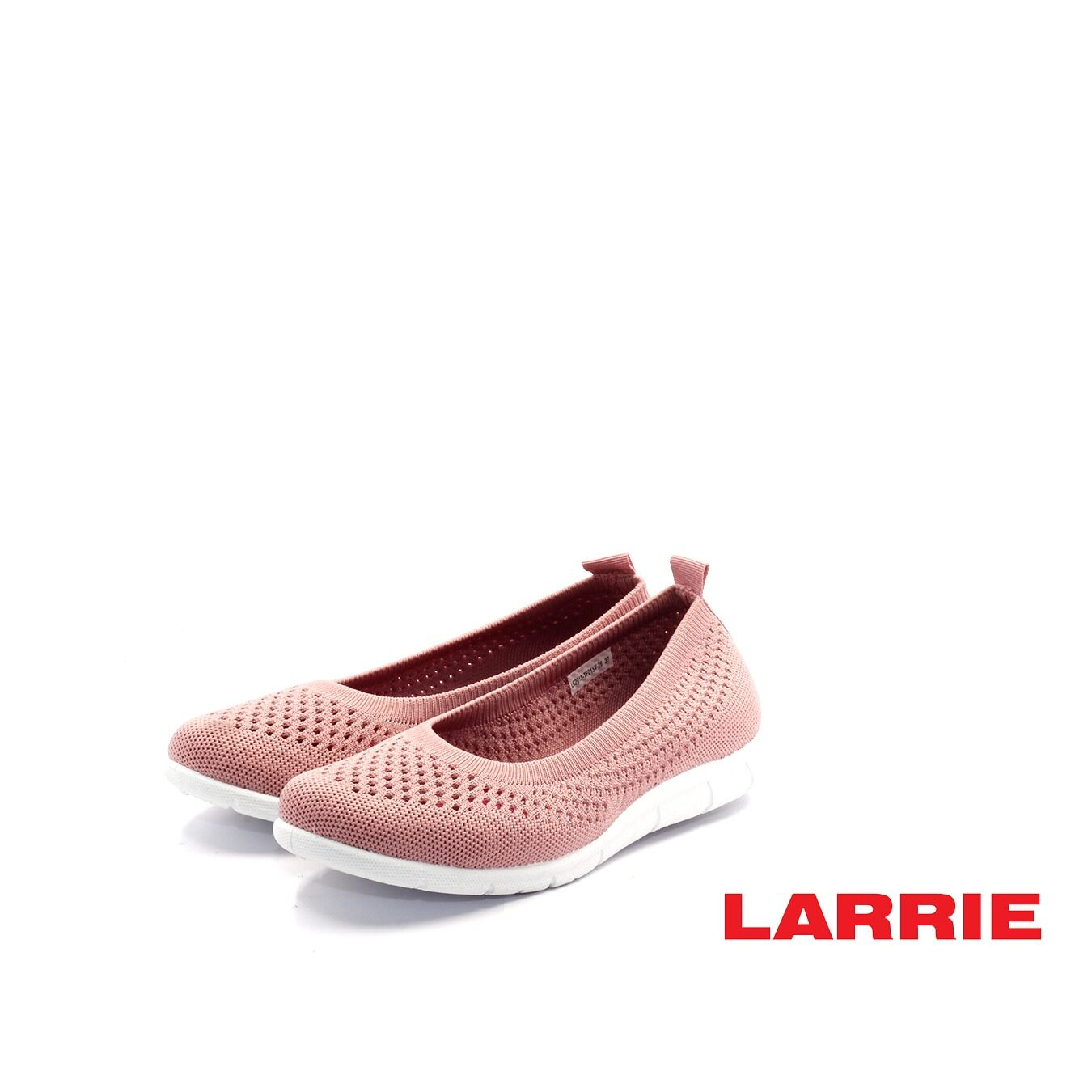 LARRIE Kasut Perempuan Stretchable Casual Comfort Sneakers Women  - L62013-TF01SV