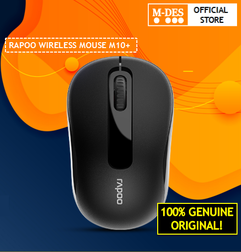 RAPOO WIRELESS COLOURFUL MOUSE M10+