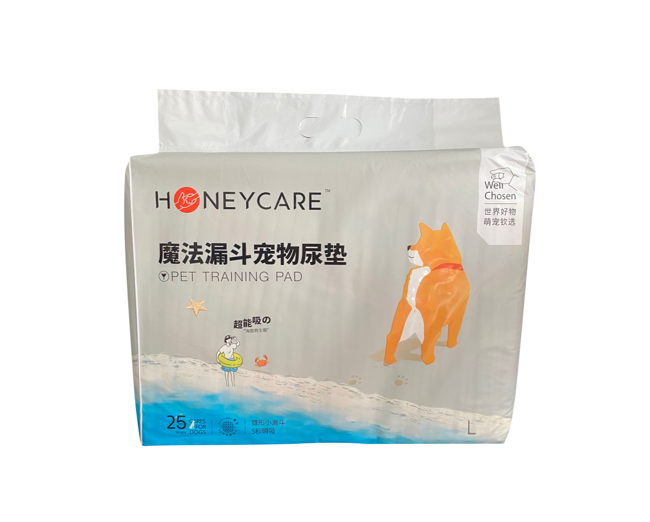 HONEYCARE【好命天生】Classic Toilet Training Pet Pads / Urine Wee Wee Pads 经典款宠物尿垫 (60cm x 90cm) 25pcs