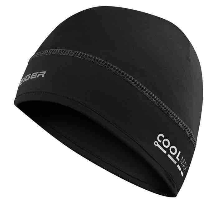 Eiger Riding Moto Head Helmet Liner - Black