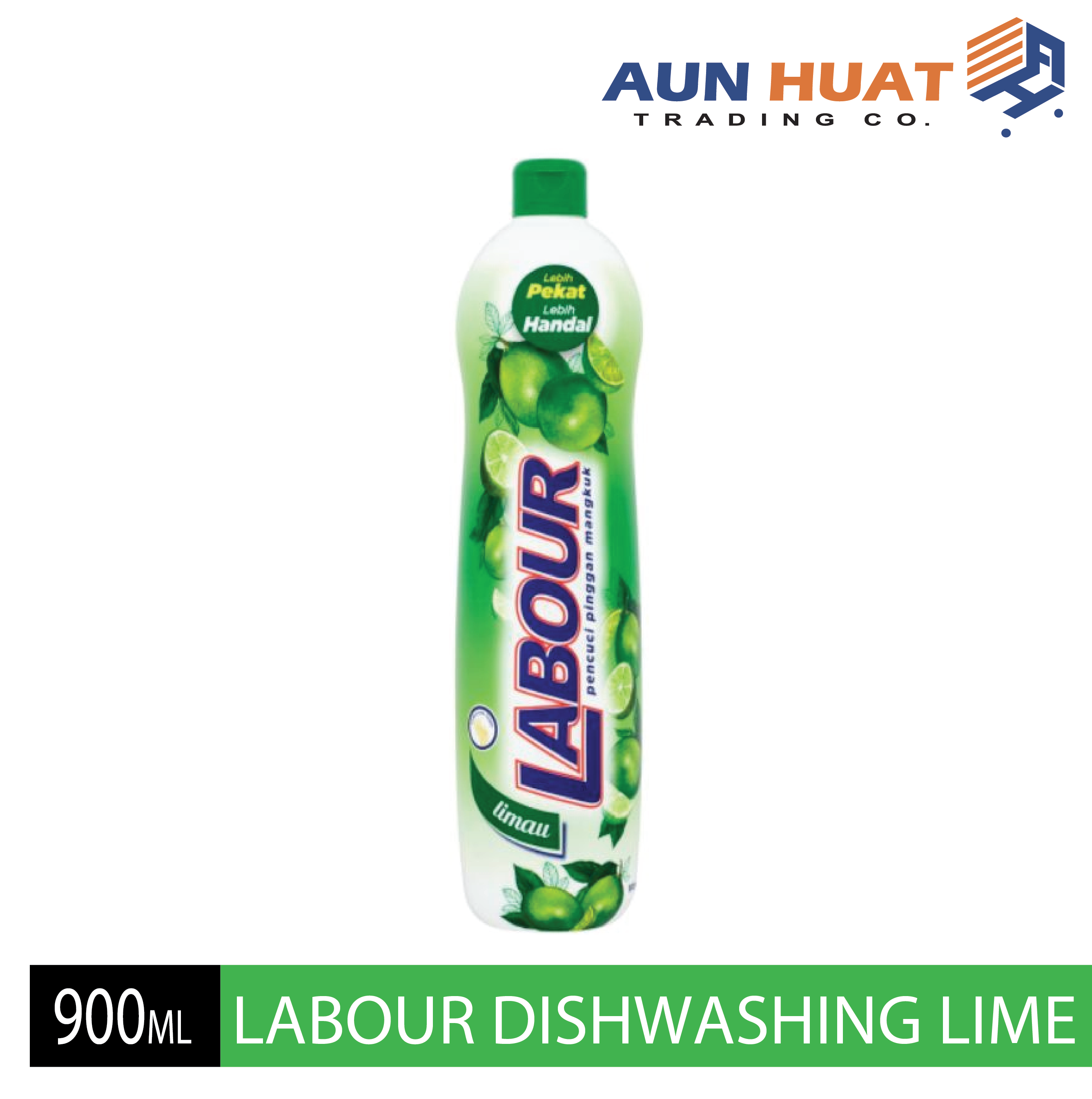 LABOUR DISHWASHING LIQUID LIME 900ML