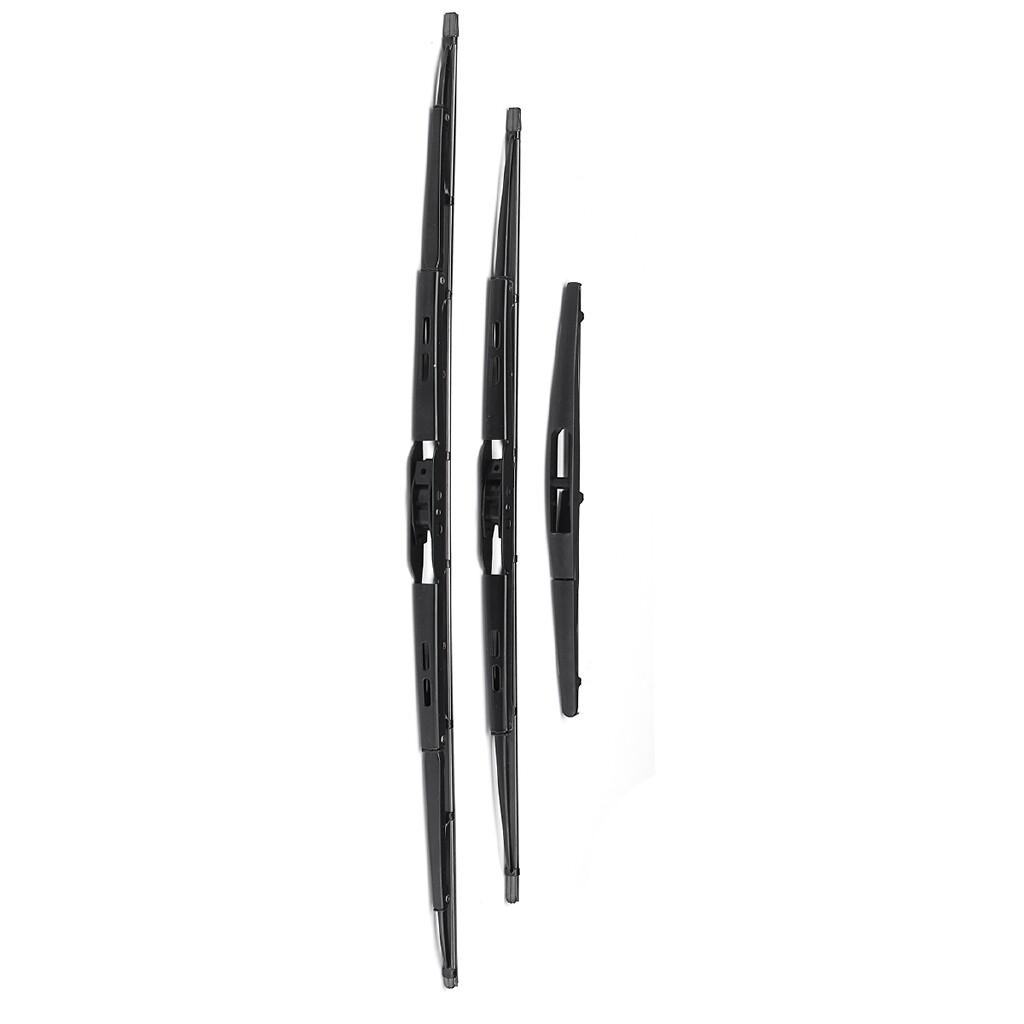 Windscreen Wipers & Windows - Front + Rear 21'' 18'' 11'' Windscreen Wiper For Suzuki Swift 2005-2016 - Car Replacement Parts