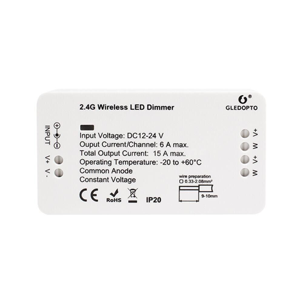 Lighting - DC12-24V Zigbee Connected Dimmable LED Controller Supported Cell Phone App Control/ Voice Control/ - TYPE 4 / TYPE 3 / 2 / TYPE 1