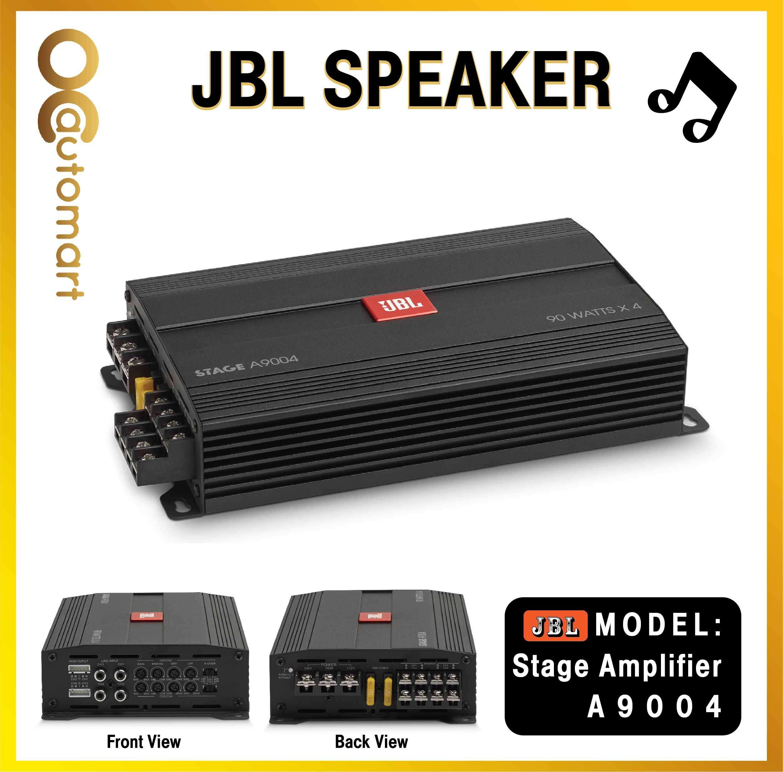 JBL STAGE A9004 - Class D Car Audio Amplifier