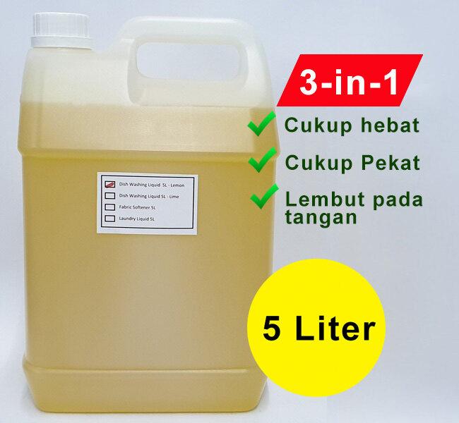 Dishwashing Liquid 5000ml/5kg/5Liter - Lemon