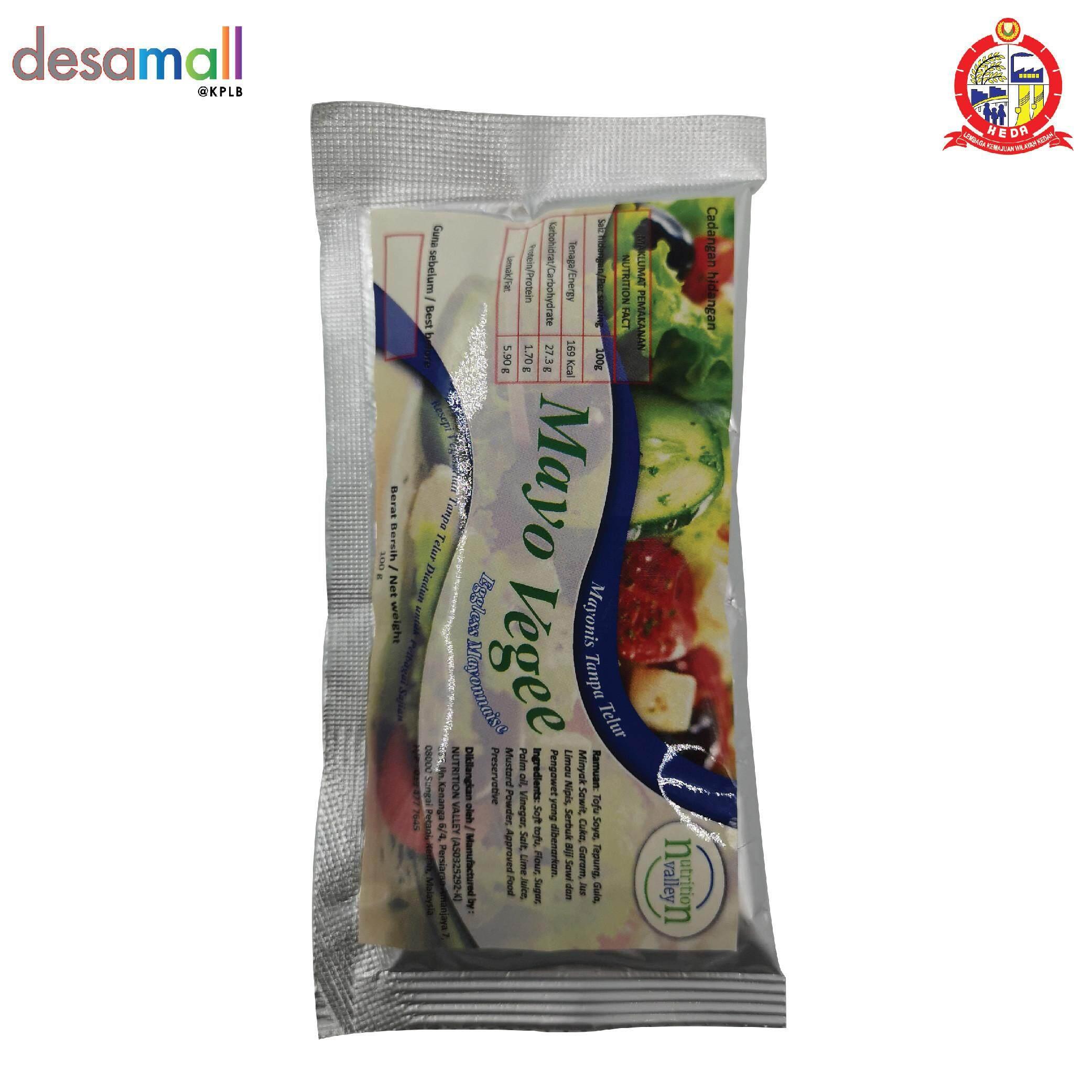 Nutrition Valley Mayo Vegee Mayonis Tanpa Telur (100g)