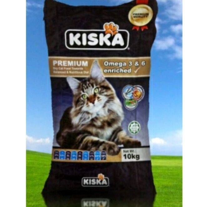 Kiska Cat Food 10kg+1kg