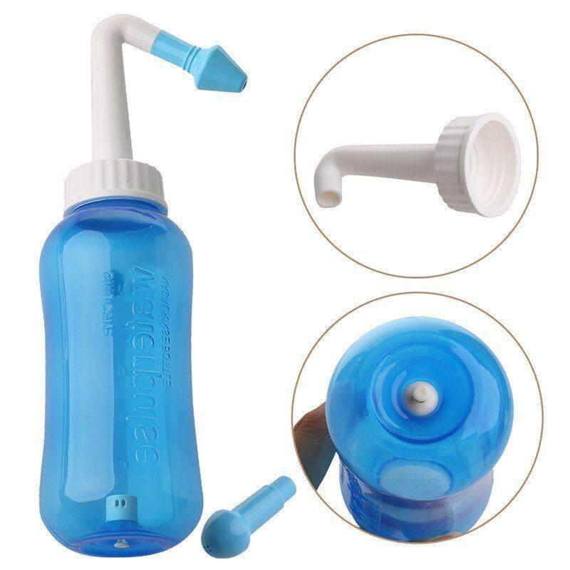Home Medical Neti Pot Nasal Nose Wash Set Yoga Detox Rinse FREE 5 Nasal Irrigation Salts