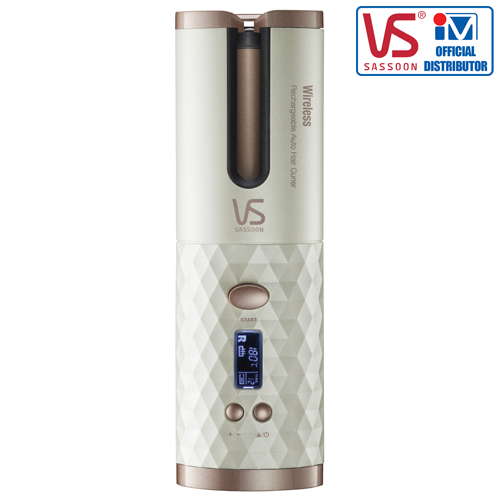 VS SASSOON Wireless Rechargeable Auto Hair Curler, VSA-1910