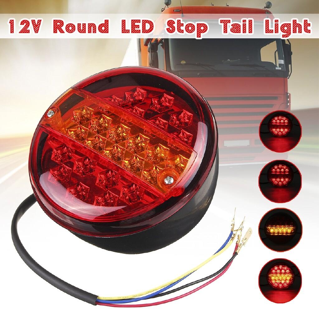 Car Lights - Trailer Light Indicator Light Brake Stop Light Round Trailer Truck Light Indicator Lamp Truck - Replacement Parts