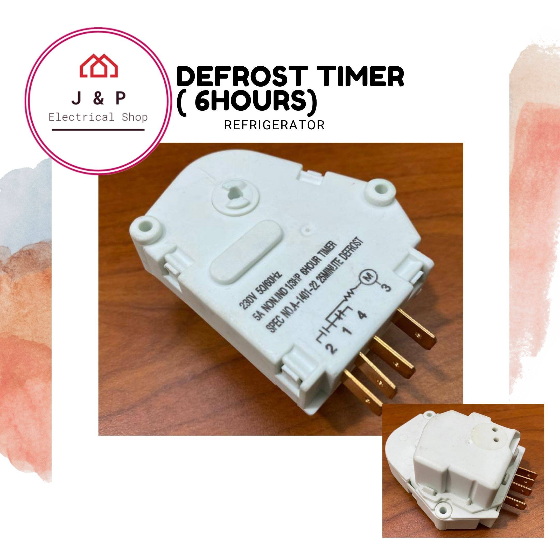 Defrost Timer for Refrigerator  (READY STOCK)1577412082-1603784657566-3