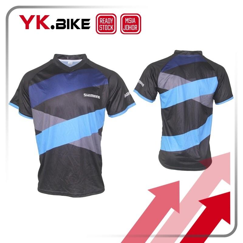 YKBIKE [LOCAL READY STOCK] Motorcycle Bike Jerseys Cycling Clothes MTB T-shirt Motocross BMX Racing Jersey Downhill APL3026