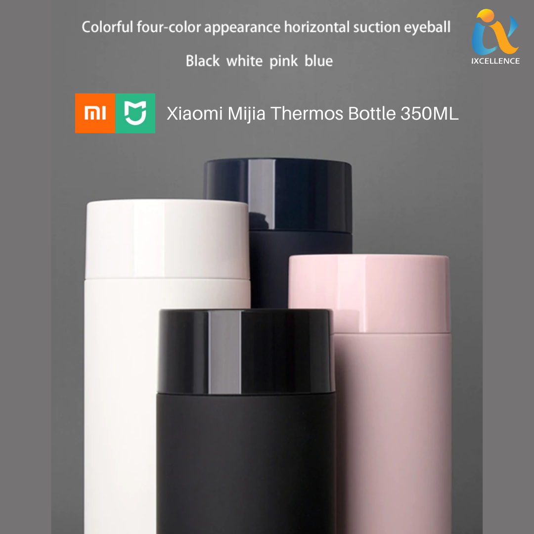 Xiaomi Mijia Mini Thermos Bottle 350ML Portable Stainless Steel Thermos Cups Double-layer Vacuum Heat