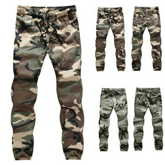HM Army Unisex Jogger Long Pants Men's Shoes and Clothing / Men Clothing / Pants / Joggers & Sweats