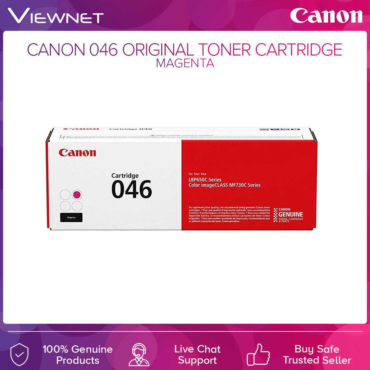 Canon 046 Original Toner Cartridge Black  Cyan  Magenta  Yellow