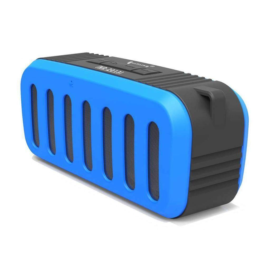 New Rixing Wireless Bluetooth Speaker - Nr-2013 BLUE