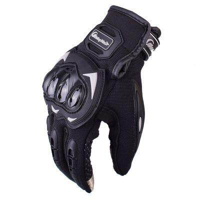 Riding Tribe MCS - 17 Motorcycle Racing Protection Gloves (BLACK)