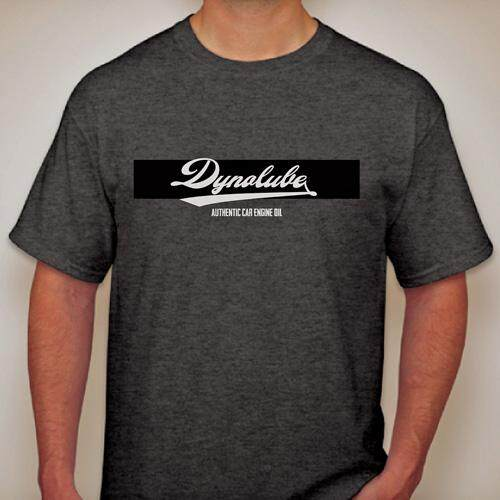 Dynolube Authentic Casual Wear T-Shirt (Mens Womens Short Sleeve O-neck) [GM96-101]- S
