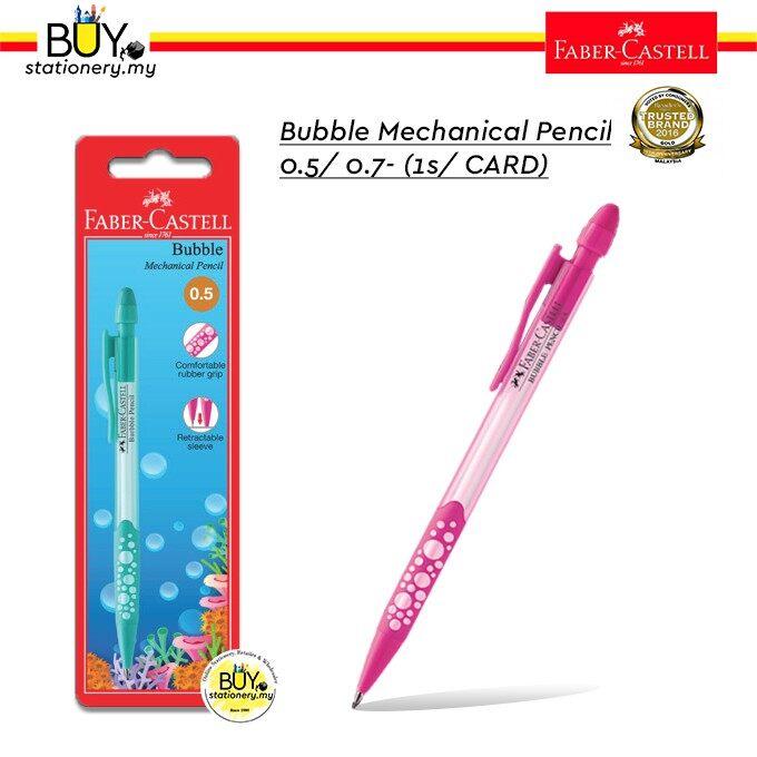 Faber Castell Bubble Mechanical Pencil 0.5/ 0.7- (1s / Card)