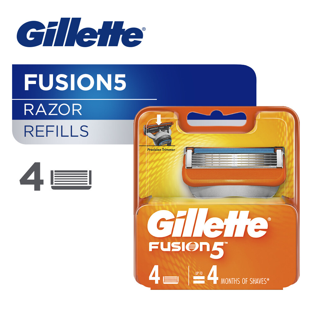 Gillette Fusion5 Razor Cartridges 4s