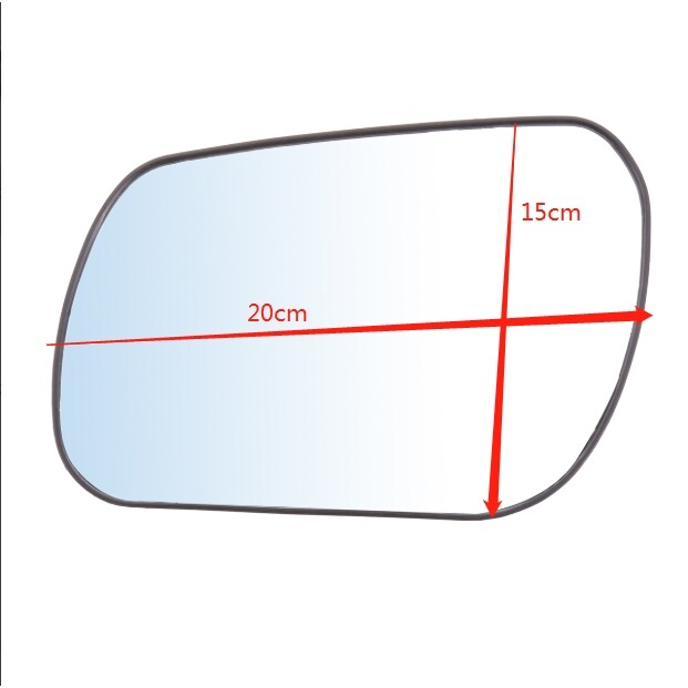 Automotive Tools & Equipment - Wing Mirror Glass For Mazda 3 04-08 Mazda 6 03-06 Aspherical Driver Right Side - Car Replacement Parts