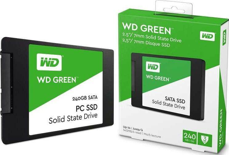 WD GREEN SATA SSD 240GB (WDS240G2G0A)-READY STOCK