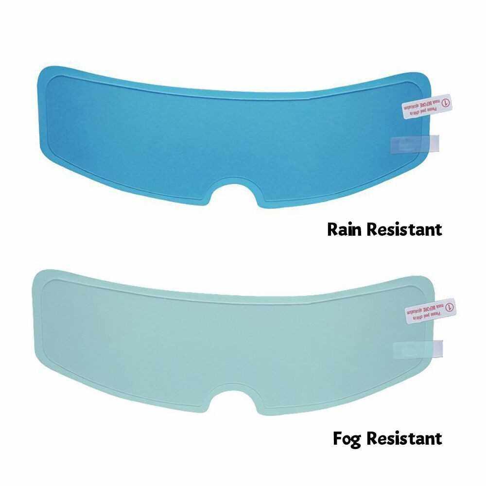 Helmet Clear Anti-Fog Patch Film Motorcycle Helmet Lens Fog Resistant Rainproof Rain Resistant Films (3)