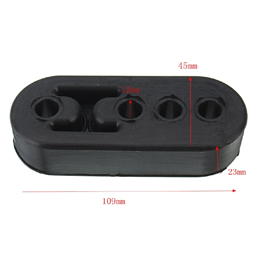 Exhaust - Car Exhaust Hanger Pipe Mount Mounting Bracket Hanger Heavy Duty Replacement - Car Replacement Parts