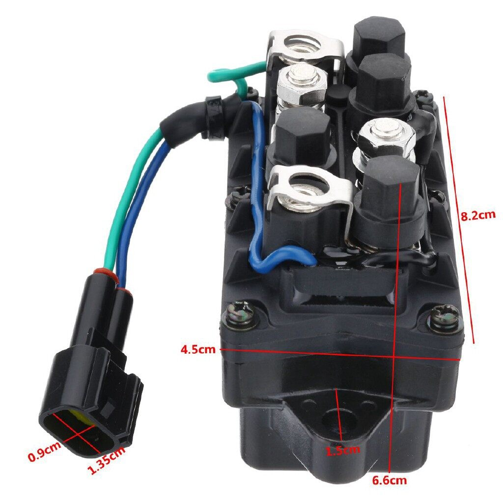 Car Lights - Trim Relay For YAMAHA Outboard F150&250 4 Stroke Engine 25-250HP 63P-81950-00-00 - Replacement Parts