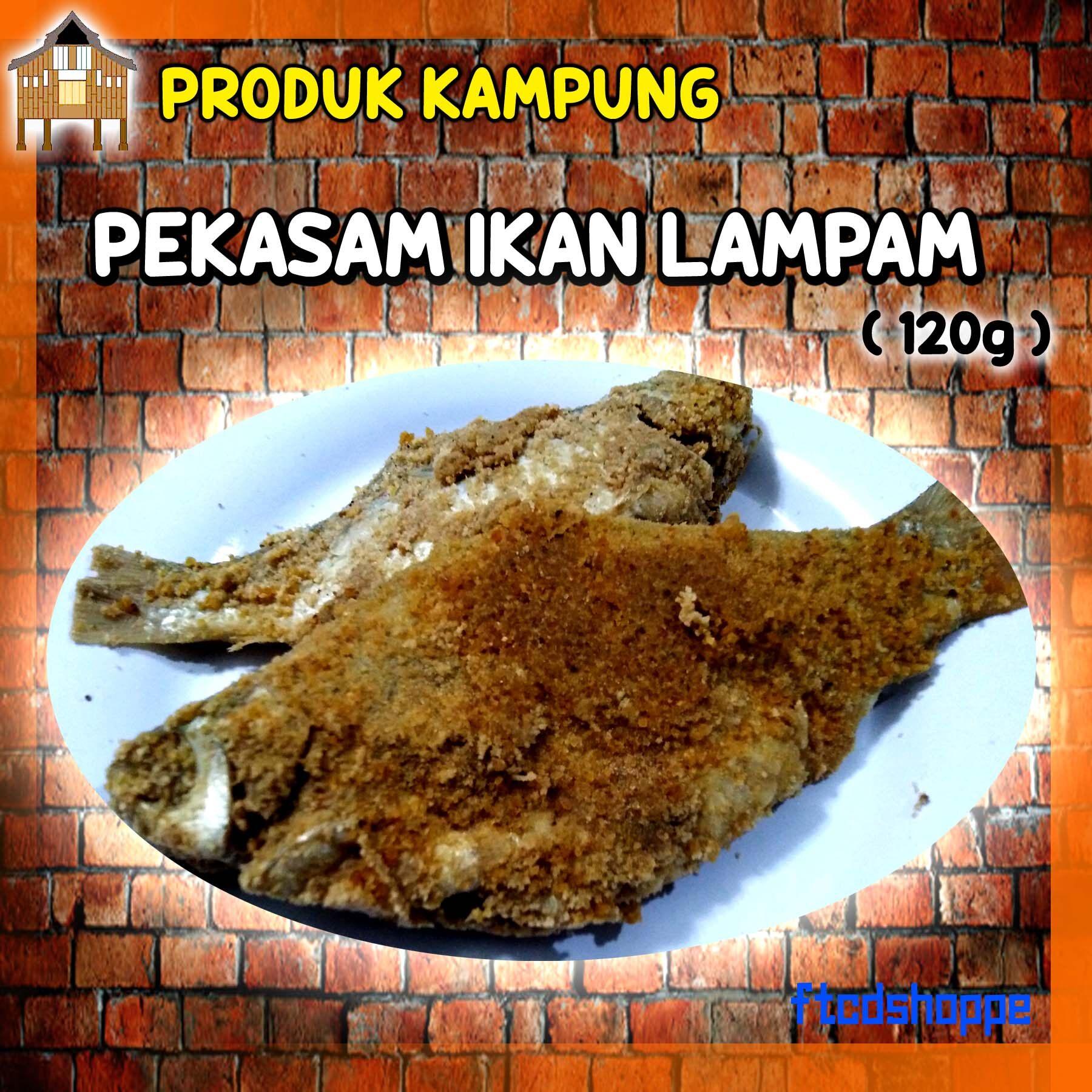PRODUK KAMPUNG - Pekasam Ikan Lampam ( 120g )
