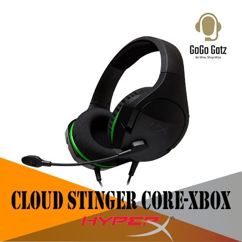 {HX-HSCSCX-BK} {Ship Out Within 24 Hours} HyperX Cloud Stinger Core Gaming Headset - Official Xbox licensed headset