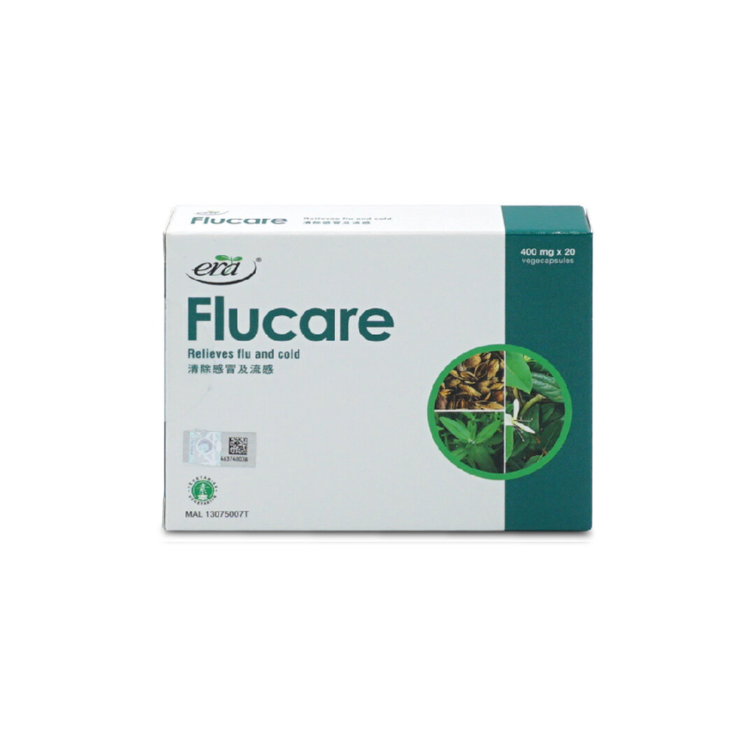 ERA Flucare 20's   Relieves Flu and Cold