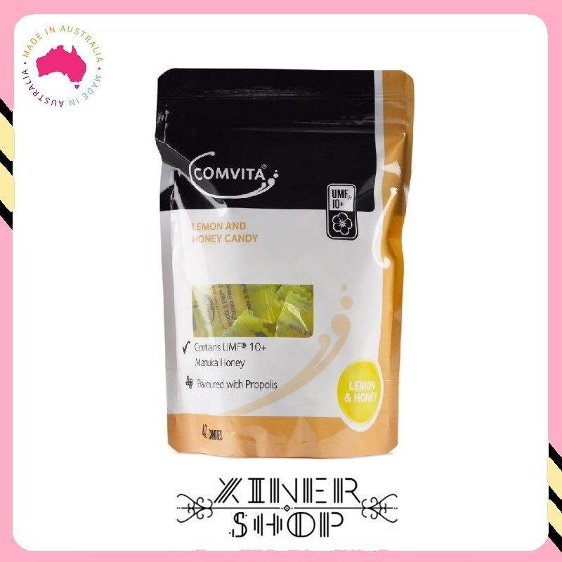 [Pre Order] Comvita Manuka Honey Lozenges with Propolis Lemon & Honey 40 Lozenges (Made In New Zealand)