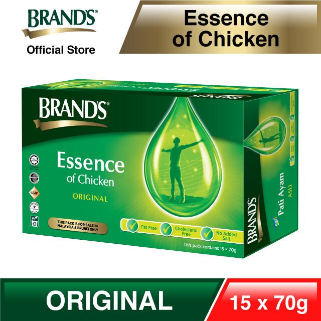 BRAND'S® Essence of Chicken Single Pack 14+1 bottles x 70gm