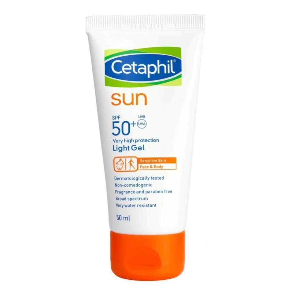 CETAPHIL SUN SPF 50+ FACE & BODY LIGHT GEL 50ML