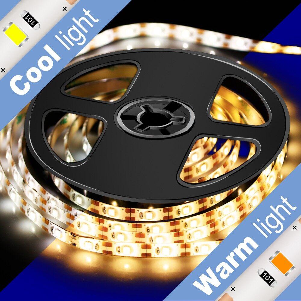 1-3M Motion Sensor Kitchen Clo SET Cabinet Stair Night Light Led Lamp Strip Waterproof Flexible Lamp - WHITE-2 M / WARM WHITE-3 M / WHITE-1 M / WARM WHITE-1 M / WHITE-3 M / WARM WHITE-2 M