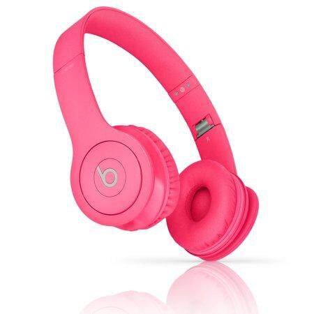 Solo HD Wired Headphones Earphone Beats By Dr.Dre PINK