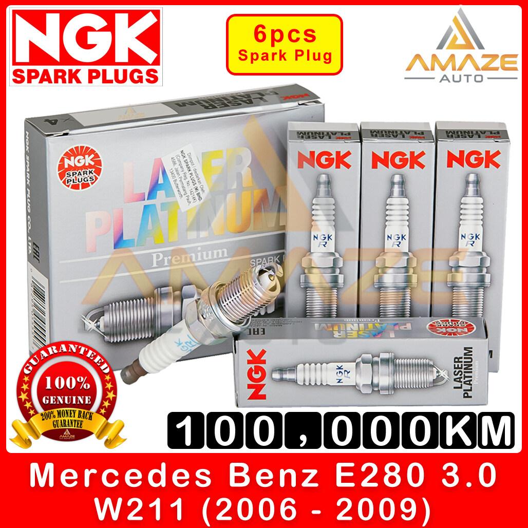 NGK Laser Platinum Spark Plug for Mercedes Benz E Class W211 E280 3.0 V6 (2006-2009) - Long Life Spark Plug 100,000KM [Amaze Autoparts]