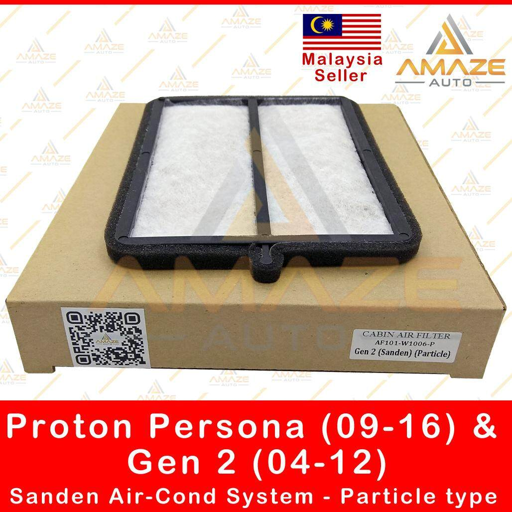 Air-Cond Cabin Filter for Proton Persona (09-16) & Gen 2 (04-12) Sanden Air Cond System - Particle type