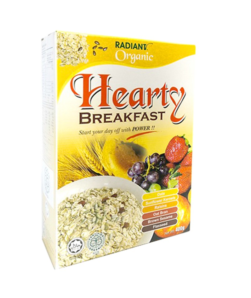 Radiant Organic Hearty Breakfast 400G